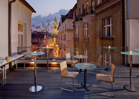 Main gastronomy terrace views hotel barcelo old town praha25 8534
