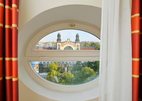 Main chopin prague window view