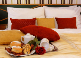 List hotel residence mala strana room 01 breakfast