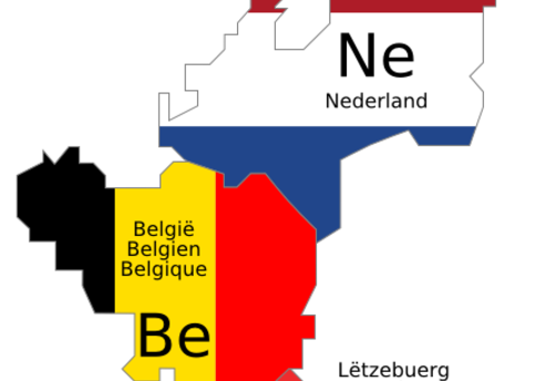Main benelux schematic map
