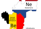 Thumb benelux schematic map